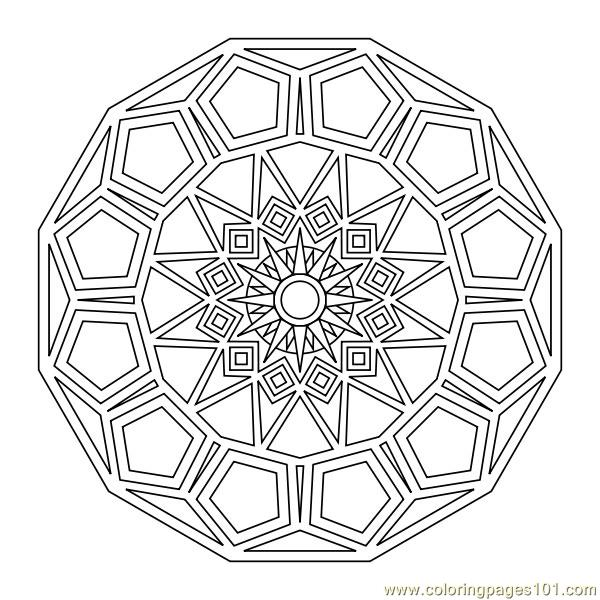 small shapes coloring pages - photo#29