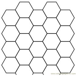 Hexagon group shape