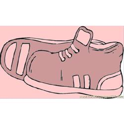 Sport Shoes 1 coloring page