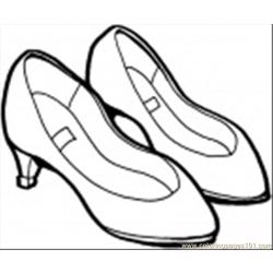Summershoes Coloring Page