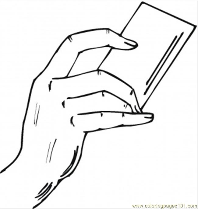 To Pay The Bills Coloring Page