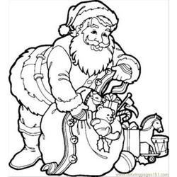 8 As Santa Claus Coloring Pages