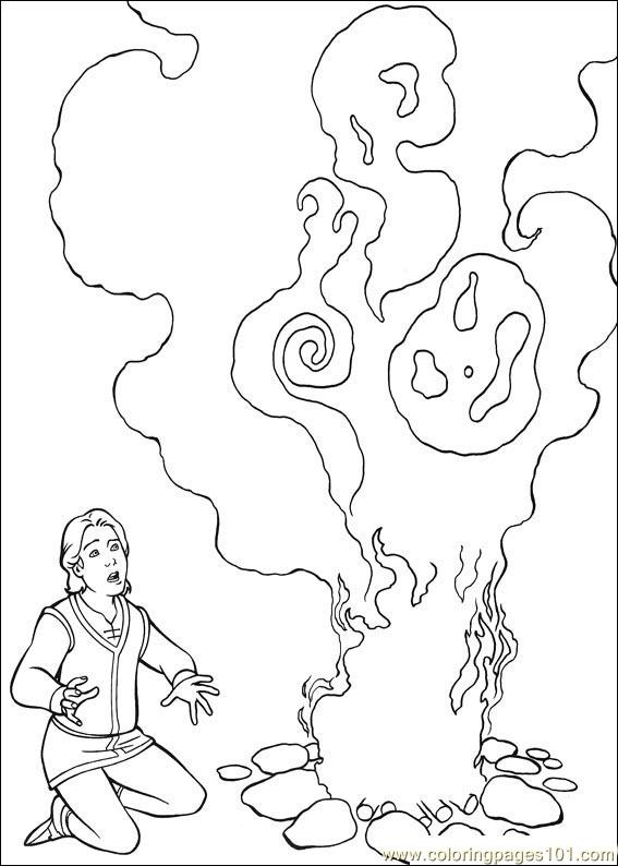 Shrek 3 25 Coloring Page