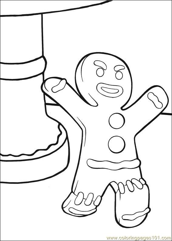 Shrek 3 35 Coloring Page Free Shrek the Third Coloring Pages