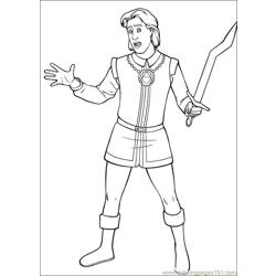Shrek 3 03 coloring page