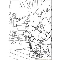 Shrek 3 04 coloring page