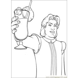 Shrek 3 05 coloring page