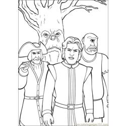 Shrek 3 06 coloring page