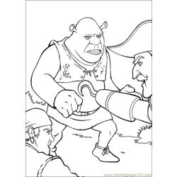 Shrek 3 08 coloring page