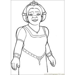 Shrek 3 12 coloring page
