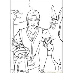 Shrek 3 14 coloring page