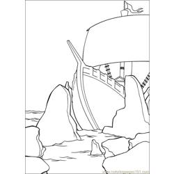 Shrek 3 16 coloring page