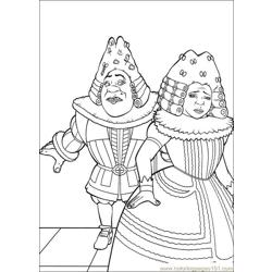 Shrek 3 19 coloring page