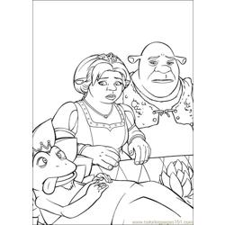 Shrek 3 20 coloring page