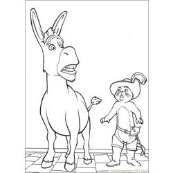 Shrek 3 21 coloring page