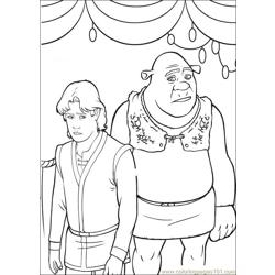 Shrek 3 22 coloring page