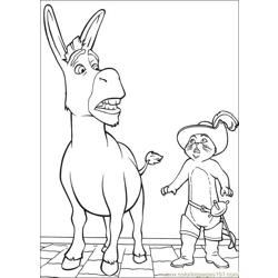 Shrek 3 27 coloring page