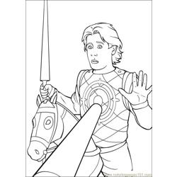 Shrek 3 29 coloring page