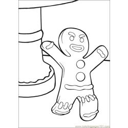 Shrek 3 35 coloring page