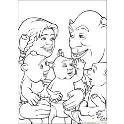 Shrek 3 36 coloring page