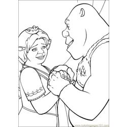 Shrek 3 39 coloring page