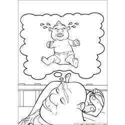 Shrek 3 40 coloring page