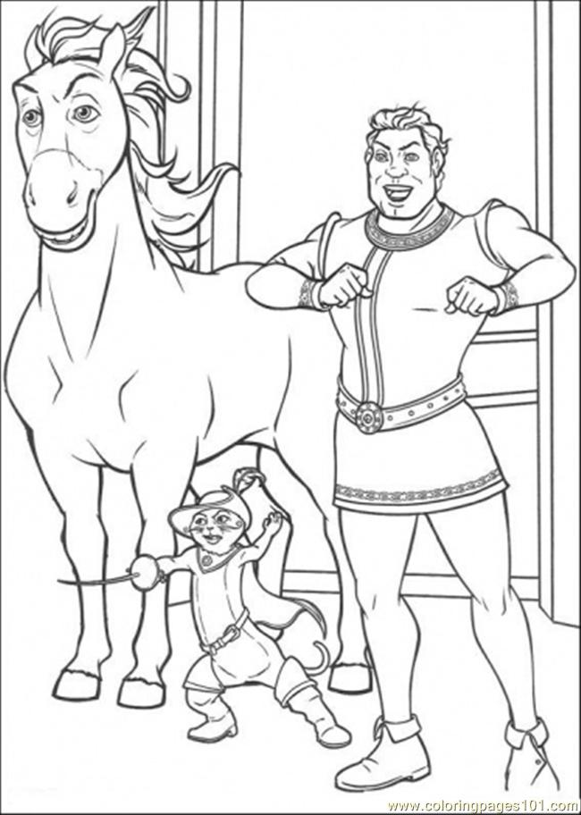In The Castle Coloring Page