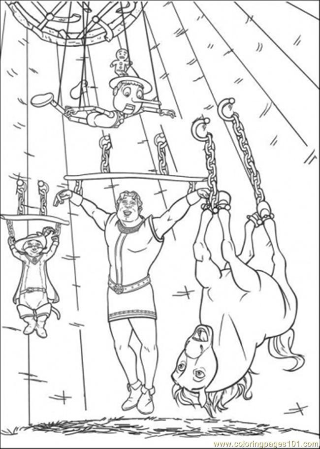 In The Prison Coloring Page
