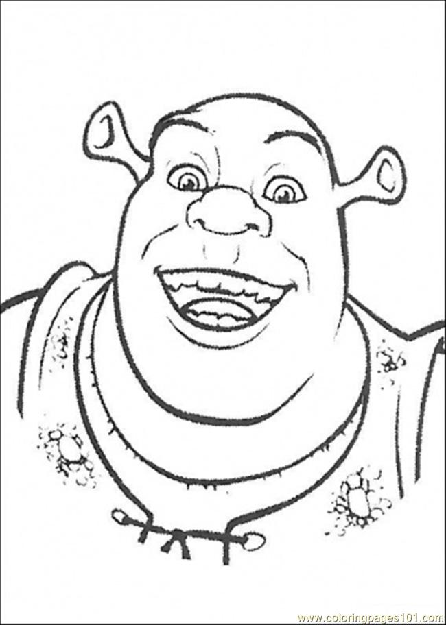 Ogre Coloring Page