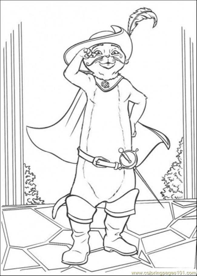 Pussss Coloring Page