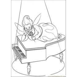 Fairy And Piano