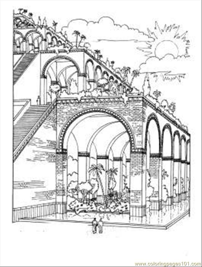Dens Of Babylon Coloring Page Coloring Page