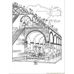 Dens Of Babylon Coloring Page