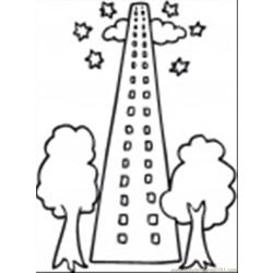 88 Per In Big City Coloring Page