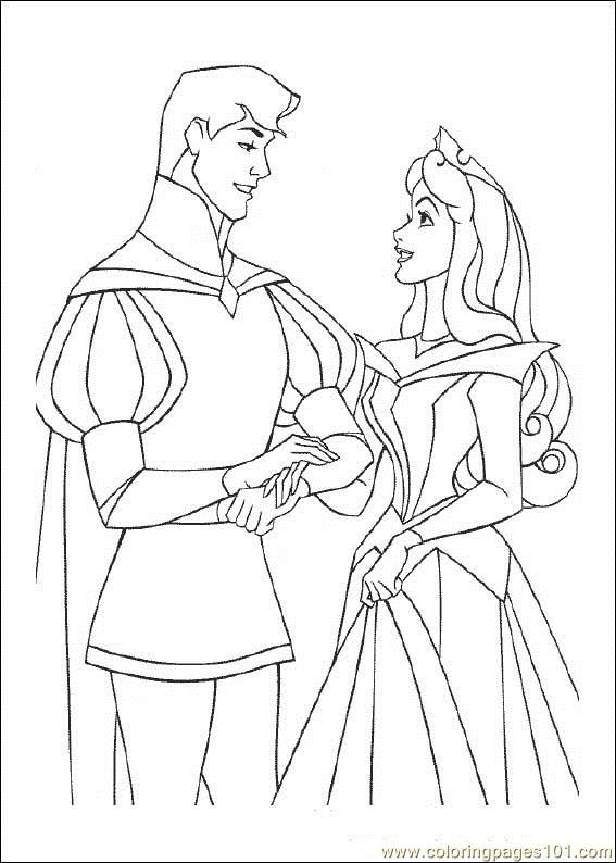 Sleeping Beauty Coloring Page Free Sleeping Beauty Coloring