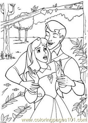 Sleeping Beauty 20 Coloring Page
