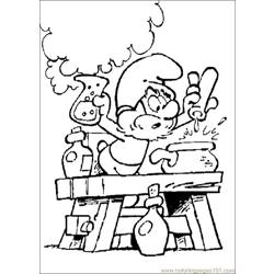 Smurfs 19 coloring page