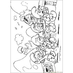 Smurfs 20 coloring page