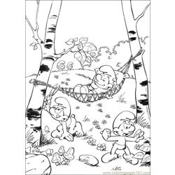Smurfs 27 coloring page