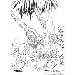 Smurfs 29 coloring page