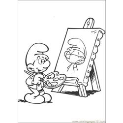 Smurfs 42 coloring page
