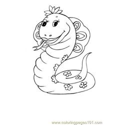 Serpent Coloring Page
