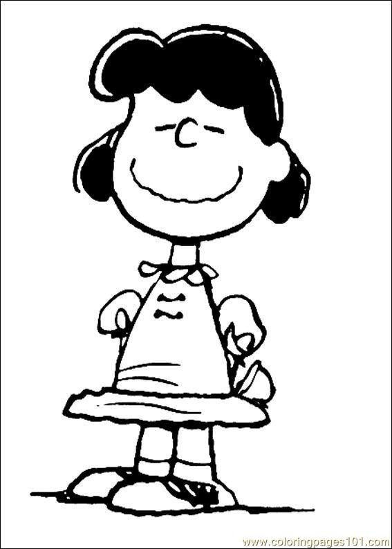 Snoopy 18 printable coloring page