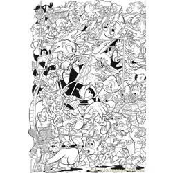 Sonic 17 Free Coloring Page for Kids