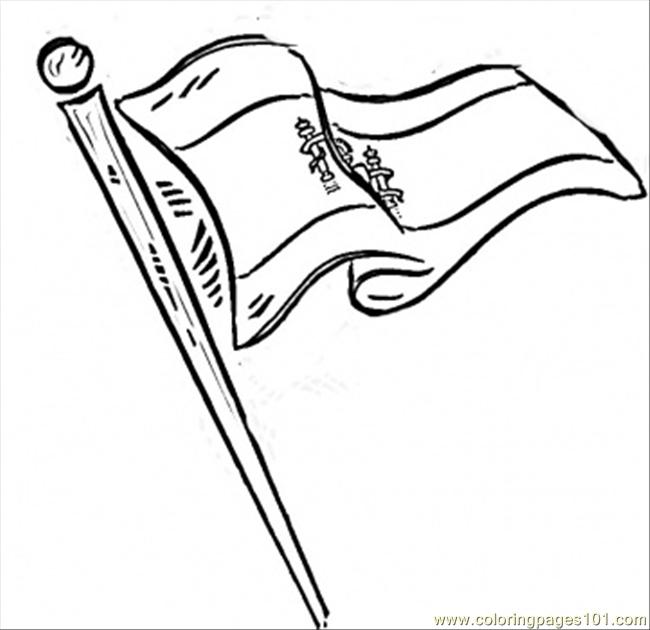 Flag Of Spain Coloring Page Free Spain Coloring Pages