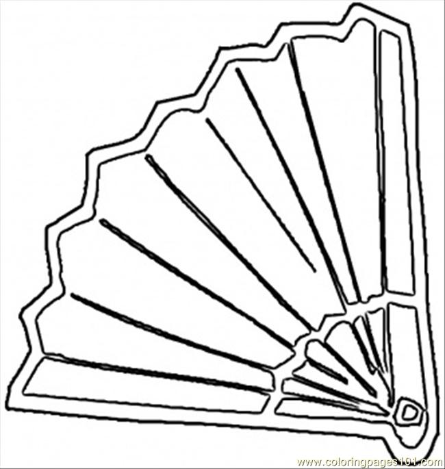 Spanish Fan Coloring Page - Free Spain Coloring Pages ...