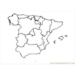 Spain Dm1 Free Coloring Page for Kids
