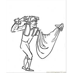 Torero Free Coloring Page for Kids