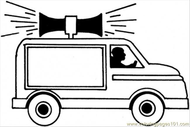 911 Emergency Car Coloring Page Free Special Transport Coloring