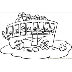 Touris Bus For Children